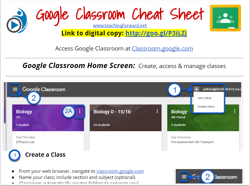 Classroom Sheet